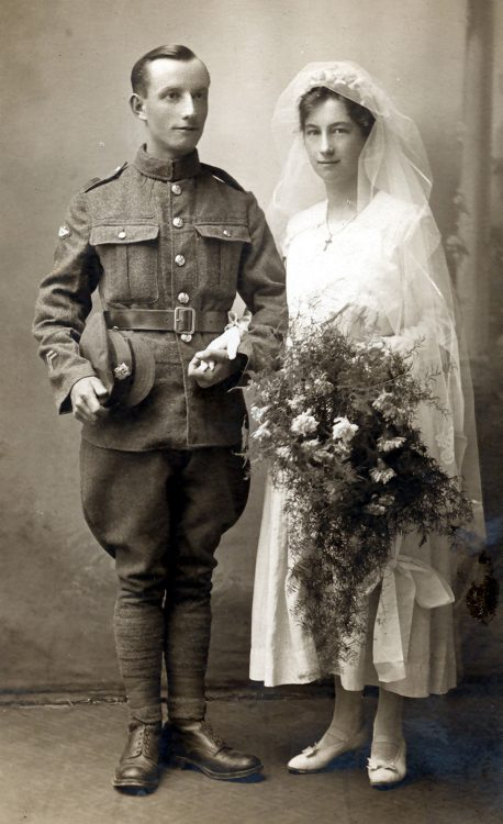 Tom Lake and Miriam Weedon married in February 1917.